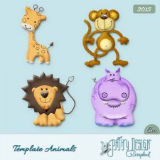 Template Animals Pathy Design