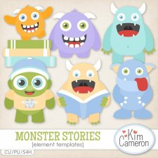 Monster Stories Templates