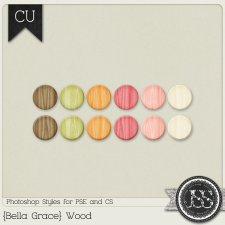 Bella Grace Wood PS Styles by Just So Scrappy