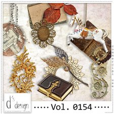 Vol. 0154 - Vintage Mix by Doudou's Design