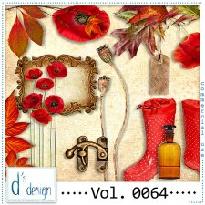 Vol. 0064 - Autumn Mix by Doudou's Design