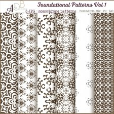 Foundational Patterns Vol. 01 by ADB Designs