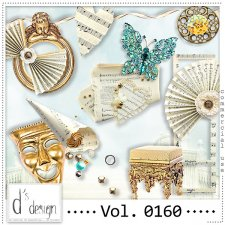 Vol. 0160- Music & Masquerade Mix by Doudou Design