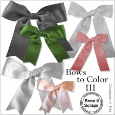 Bows to PNG Templates by Rose.li