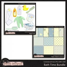 EXCLUSIVE Layered Bath Time Templates BUNDLE by NewE Designz