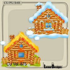 CU Vol 875 Houses by Lemur Designs