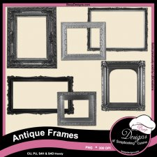 Antique Frames by Boop Designs