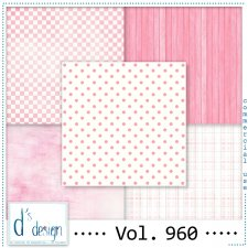Vol. 960 - Fifties Papers - by Doudou's Design