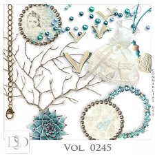 Vol. 0245 Vintage Mix by Doudou Design