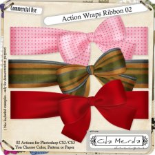 Wraps Ribbon 02 Action by Cida Merola
