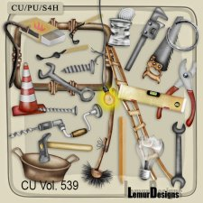 CU Vol 539 Household Stuff by Lemur Designs