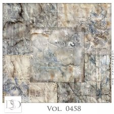 Vol. 0458 Grunge Papers by D's Design