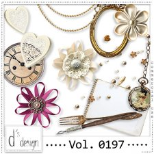Vol. 0193 to 0197 - Vintage Mix by Doudou's Design