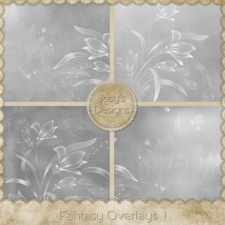 Fantasy Overlays 1 by Josy