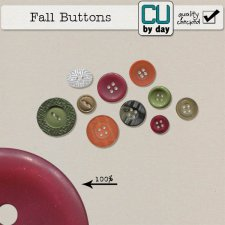 Autumn Button Bundle - CUbyDay EXCLUSIVE