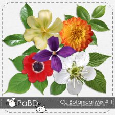 Botanical Mix 1 by Peek a Boo Designs