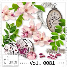 Vol. 0081- Floral Mix by Doudou's Design