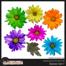 EXCLUSIVE Daisies Set 1 by NewE Designz
