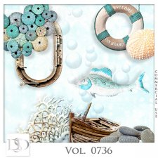 Vol. 0736 Summer Sea Mix by D's Design