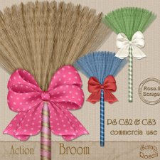 Action - Broom by Rose.li