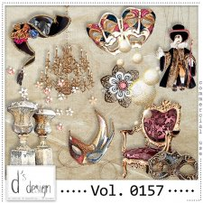 Vol. 0157 Venice Masquerade Mix by Doudou Design
