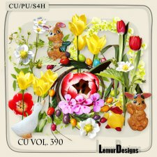 CU Vol 390 Easter Mix by Lemur Designs