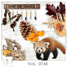 Vol. 0748 Autumn Nature Mix by D's Design