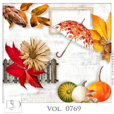 Vol. 0769 Autumn Nature Mix by D's Design