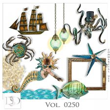 Vol. 0250 Steampunk Sea Mix by D's Design