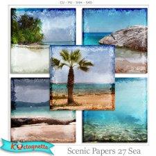 Scenic Papers 27 Sea by Kastagnette
