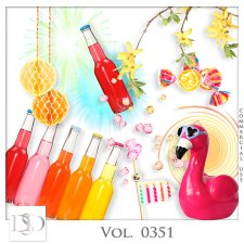 Vol. 0348 to 0352 Party Mix by D's Design
