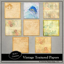 Vintage Textured Papers by Beckys Creations