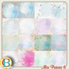 Mix Papers 6 by Benthaicreations