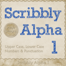 Scribbly Alpha 1 by Josy
