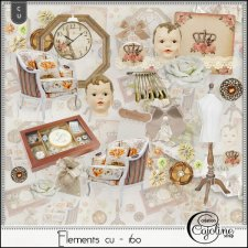 Elements CU - 160 Home Sewing Decor by Cajoline-Scrap