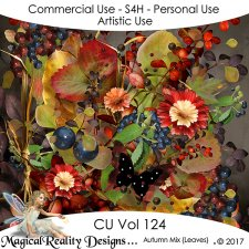 Autumn Mix - CU Vol 124 by MagicalReality Designs