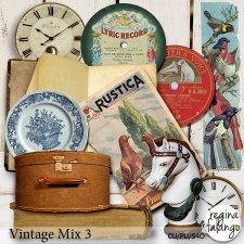 Vintage Mix 3 by Reginafalango