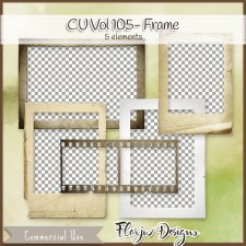 CU vol 105 Paper Frame by Florju Designs