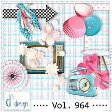 Vol. 964 Fifties Mix by Doudou Design