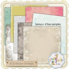 Border Overlays EXCLUSIVE by PapierStudio Silke