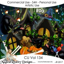 Autumn/Halloween Mix - CU Vol 134 by MagicalReality Designs