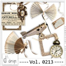 Vol. 0213 - Vintage Mix by Doudou's Design