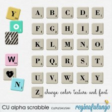 Alpha Scrabble by Reginafalango