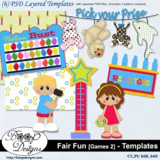 Fair Fun - Games 2 TEMPLATES