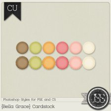 Bella Grace Cardstock PS Styles by Just So Scrappy