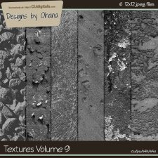 Paper Textures Vol 9 - EXCLUSIVE Designs by Ohana