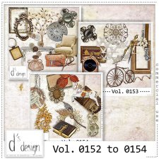 Vol. 0152 to 0154 - Vintage Mix by Doudou's Design