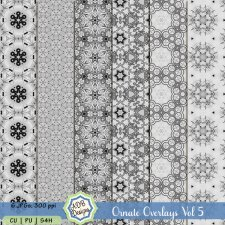 Ornate Overlays Vol 5 by ADB Designs