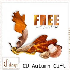 Autumn FREE Gift with Purchase by Doudou Design
