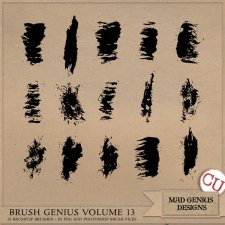 Brush Genius Volume Thirteen by Mad Genius Designs